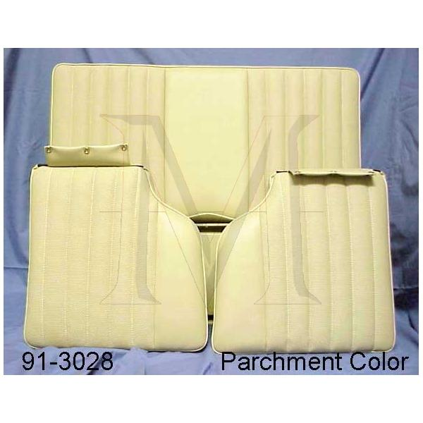 REAR SEAT - ALL 107 SL CHASSIS