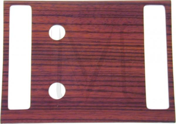 ZEBRANO WOOD A/C COVER